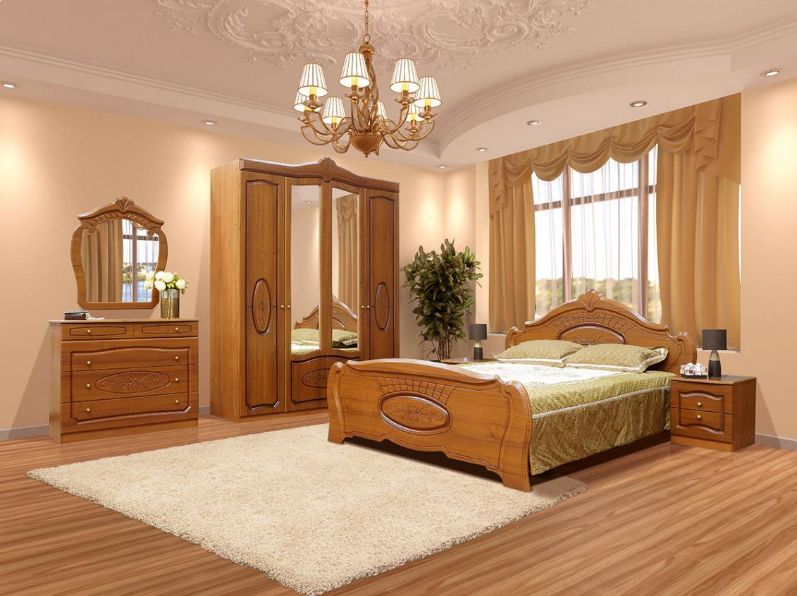 Спальня Катрин Патина