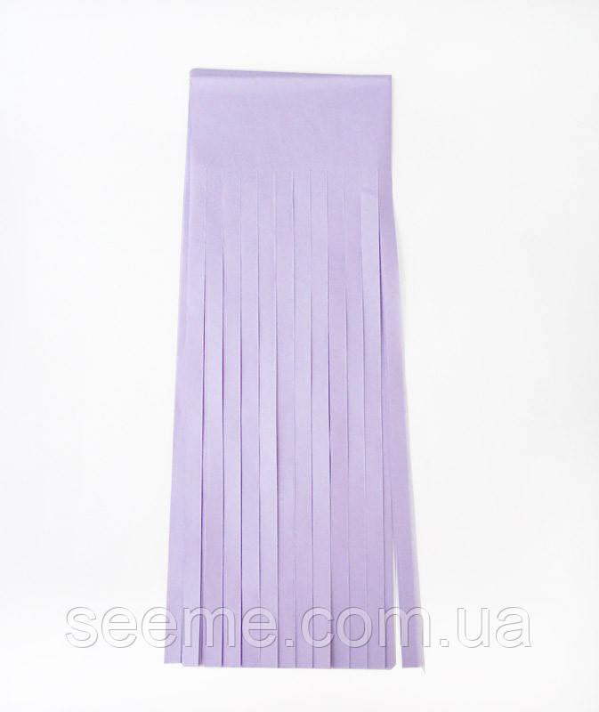 Бумажная гирлянда-кисточка из тишью «Soft Lavender», набор из 5 шт.