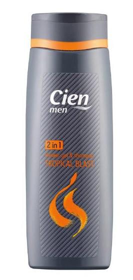 Гель для душа+шампунь Cien Men Duschgel & Shampoo 2in1 Hot Stuff 300мл