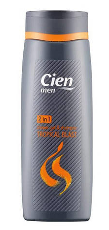Гель для душа+шампунь Cien Men Duschgel & Shampoo 2in1 Hot Stuff 300мл, фото 2