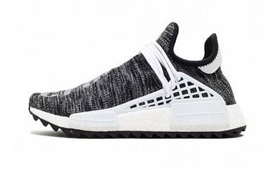 Мужские кроссовки Adidas Human Race NMD x Pharrell Williams «Oreo»