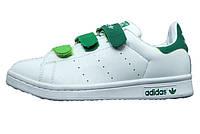Женские кроссовки Adidas Stan Smith CF White/Green