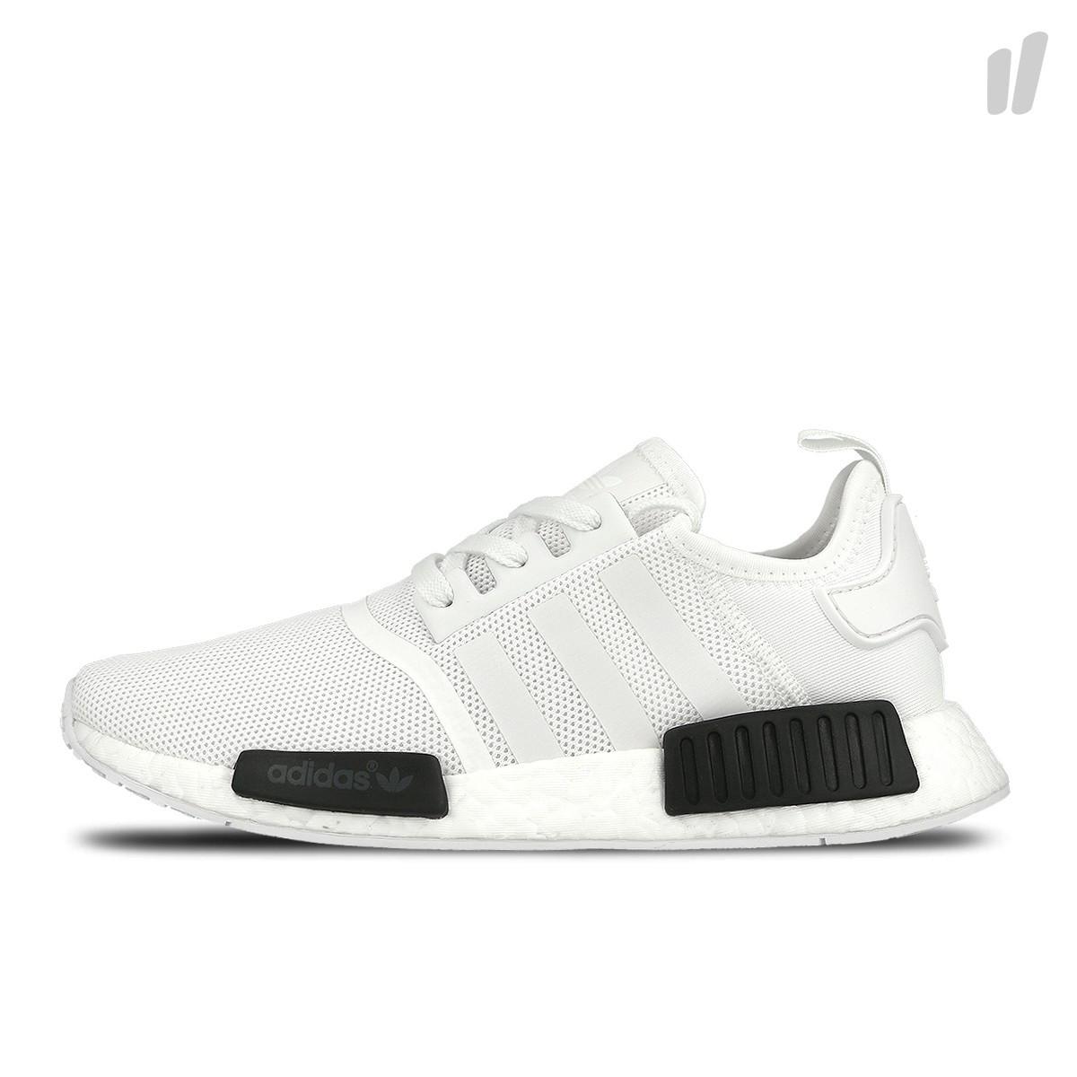 Мужские кроссовки Adidas NMD R1 Oreo White/Core Black