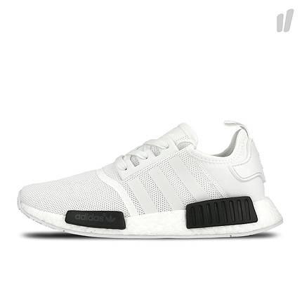 Мужские кроссовки Adidas NMD R1 Oreo White/Core Black, фото 2