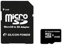Карта памяти Microsd 16 gb 10 Class