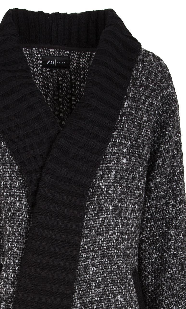 5b2917e82ba Стильное женское пальто цвета графит. Модель Orika Zaps. Коллекция осень-зима  2018-2019