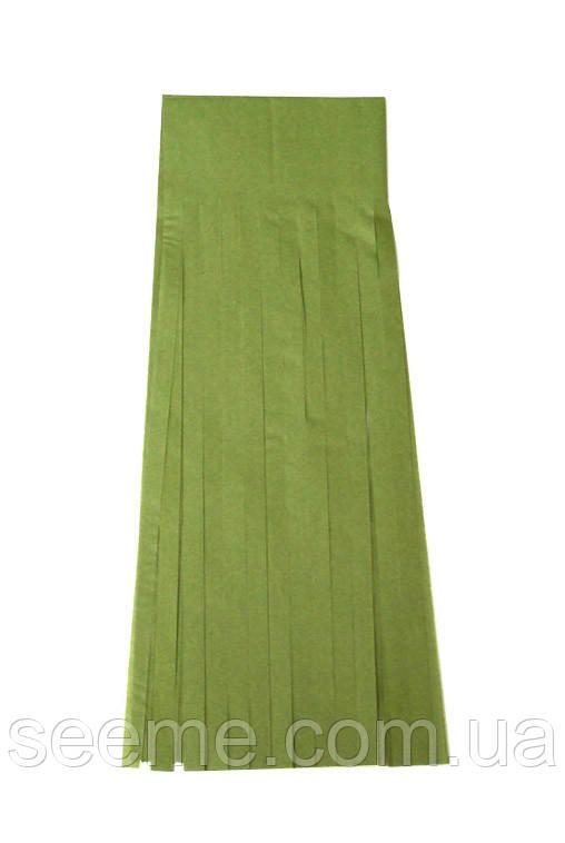 Бумажная гирлянда-кисточка из тишью «Green Tea», набор из 5 шт.