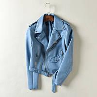 Жіноча шкіряна куртка.Куртка демісезонна.Арт.В2103, фото 1