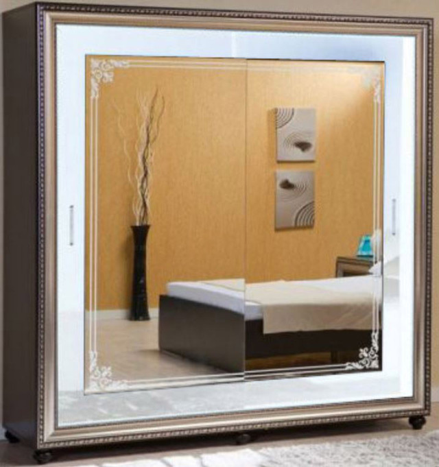 Спальня Элизабет (шкаф-купе Элизабет белый) (1)