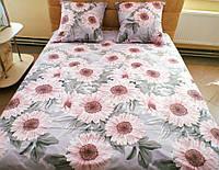 Комплект постельного белья бязь Голд Герберы, фото 1