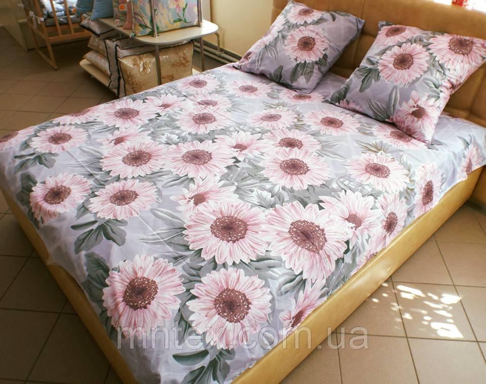 Комплект постельного белья бязь Голд Герберы