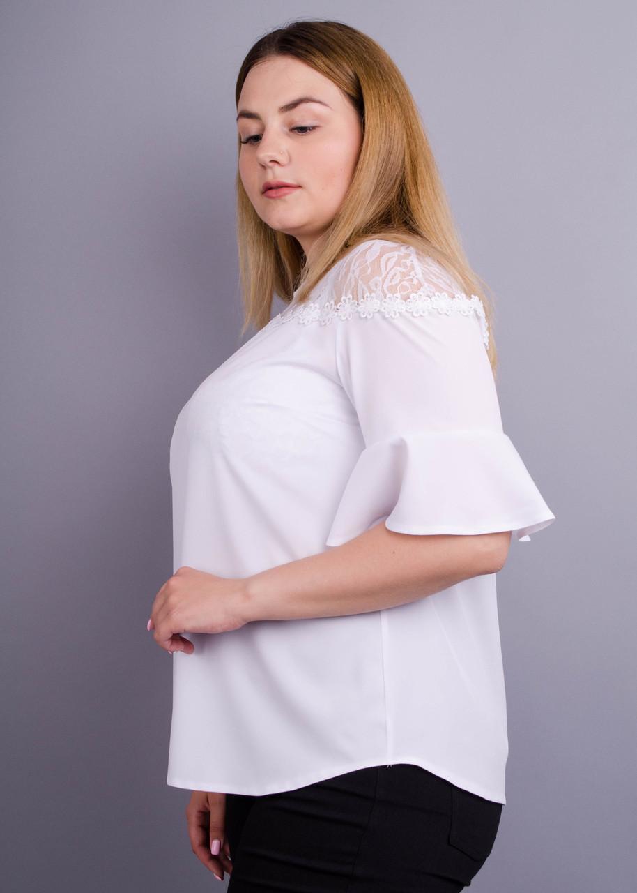 Женская блуза больших размеров Камелия