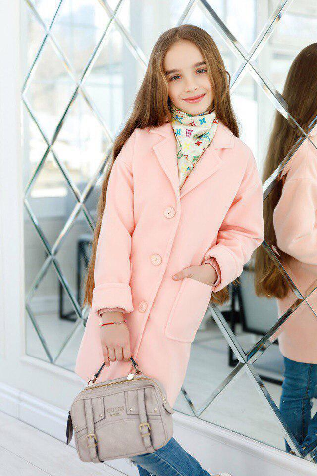 Пальто LiLove 260-2 152 розовый