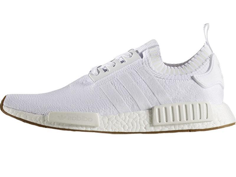 Мужские кроссовки Adidas NMD R1 PK (Ftwr White / Ftwr White / Ftwr White)