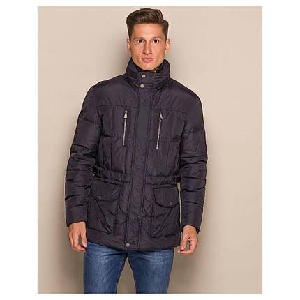 Демисезонная мужская куртка Geox M4428A BLACK, фото 2