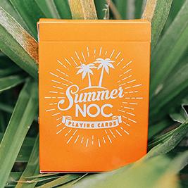 Карты игральные   Limited Edition Summer NOC (Orange) Playing Cards
