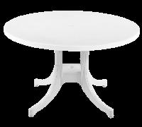 Стол круглый Papatya Фавори 120 белый, фото 1