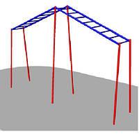 Рукоход дл детской игровой площадки Л-образный БК – 778Р