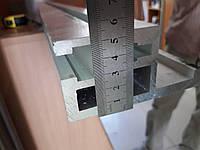 Упор параллельного реза длина 1050 мм профиль 104 х 52 мм для форматно-раскроечных станков