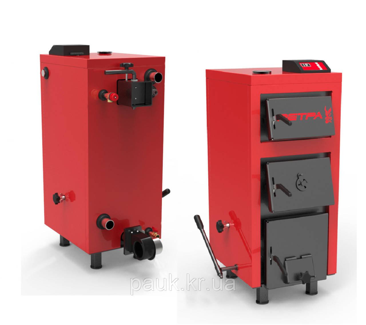 Котел Ретра-5М PLUS -25 кВт твердопаливний побутовий