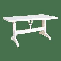 Стол прямоугольный Irak Plastik 80x140 белый