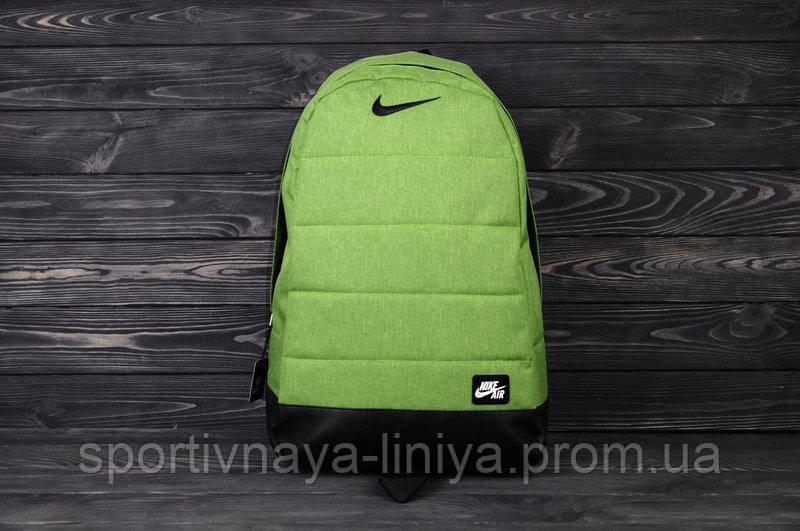 Спортивный рюкзак  Nike реплика салатовый