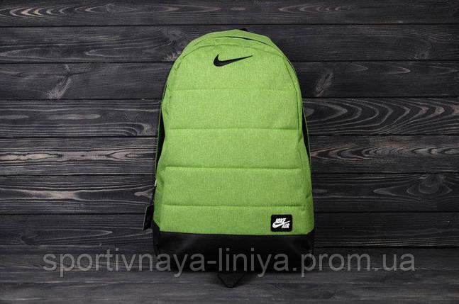 Спортивный рюкзак  Nike реплика салатовый, фото 2