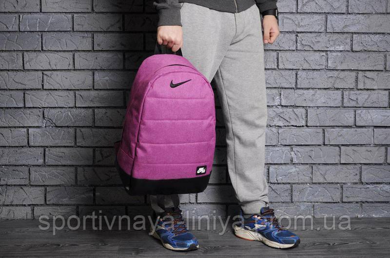 Спортивный рюкзак  Nike реплика розовый