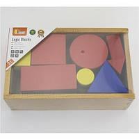"""Набор для обучения Viga Toys """"Логические блоки"""" (56164)"""