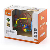 "Лабиринт Viga Toys ""Бусинки"" (56256), развивающий лабиринт, бусинки"