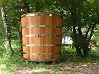 Деревянная купель круглая 500 л