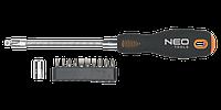 Отвертка с гибким стержнем, набор 12 шт, NEO 04-212