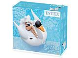 Надувной плот Intex 56287 Лебедь 194 x 152 х 147 см, фото 6