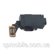 Конектор Handsfree (роз'єм навушників) для Sony E2312 Xperia M4 Aqua Dual, з шлейфом