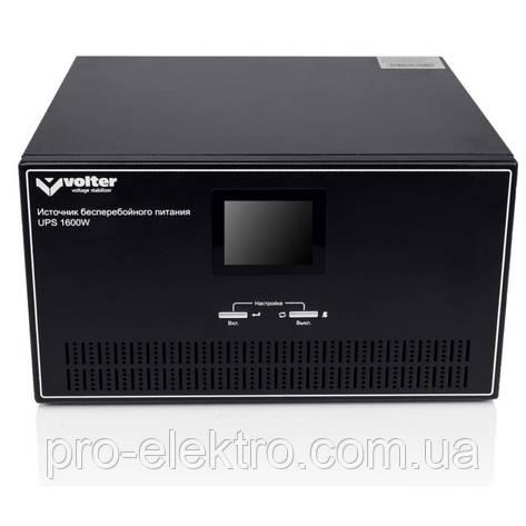 Источник бесперебойного питания Volter UPS-1600 LINE-INTERACTIVE , фото 2