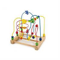 Лабиринт Viga Toys (58374), развивающий лабиринт, бусинки