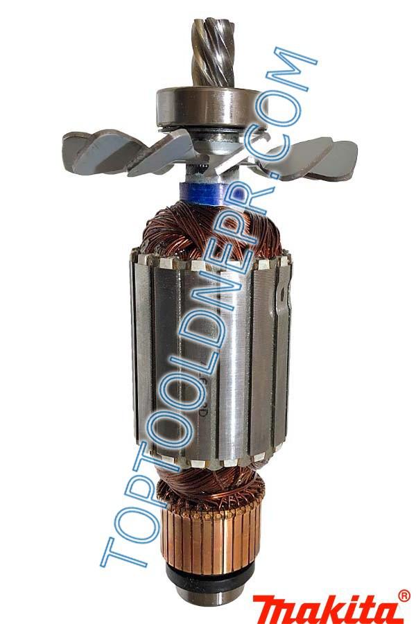 Якорь на торцовочную пилу makita 2414NB фирменный