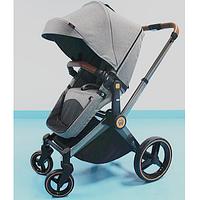 Детская коляска трансформер Welldon 2 в 1 (графитовый) WD007
