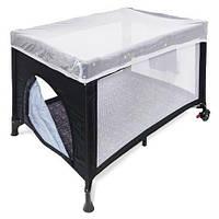Манеж Wonderkids Voyager (графитовый) WK21-H27-003, манеж кровать