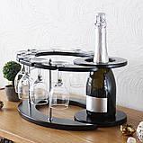Набір для вина на 8 чарок-Галактика, фото 3