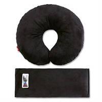 Комплект дорожный для сна Eternal Shield (черный) (4601234567862), подушка под шею  (черный)