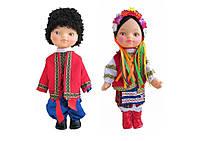 Комплект ляльок в українському одязі. Ляльки українці. Комплект кукол украинцев, фото 1