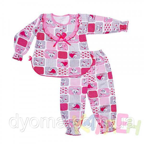"""Детская теплая пижама """"Мальвина"""" для девочек"""