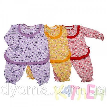 """Детская теплая пижама """"Мальвина"""" для девочек, фото 2"""
