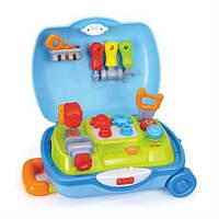 """Игрушка Huile Toys """"Чемоданчик с инструментами"""" (3106), чемодан юный мастер"""