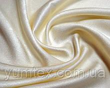 Портьерная ткань перламутровый блекаут, цвет молочный