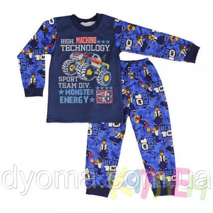 """Детская теплая пижама """"Игрушка 2"""" для мальчиков, фото 2"""