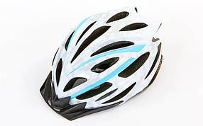 Велошлем кросс-кантри с механизмом регулировки ZEL HB31 (EPS, пластик, PVC, L-M (55-61), цвета в ассортименте)