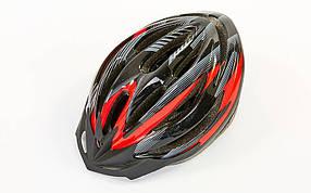 Велошлем кросс-кантри с механизмом регулировки ZEL HB13 (EPS,пластик, PVC, р-р L-M (55-61), цвета в ассортименте)
