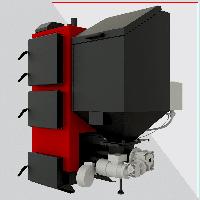Котел твердотопливный Альтеп Duo Pellet 25 кВт